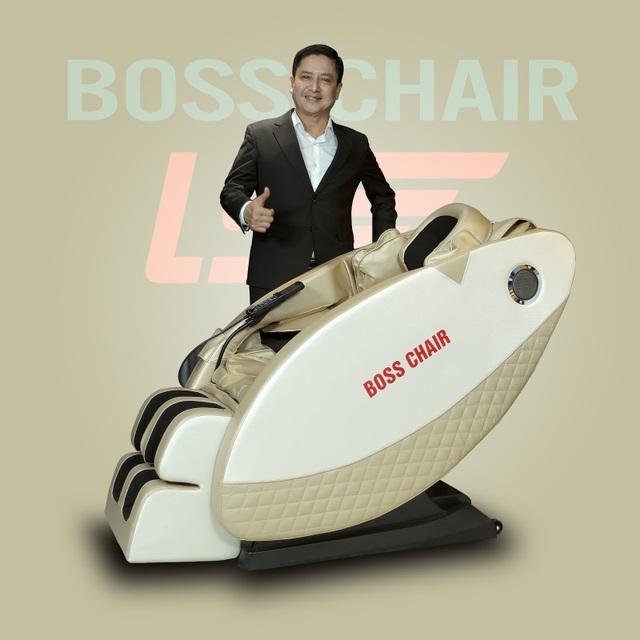 Ghế massage Boss Chair - sức khỏe trọn vẹn cho mọi gia đình - 1