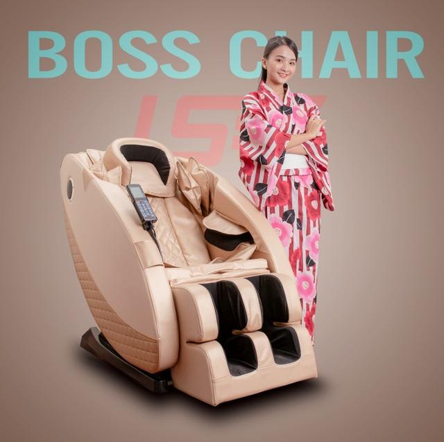 Ghế massage Boss Chair - sức khỏe trọn vẹn cho mọi gia đình - 4