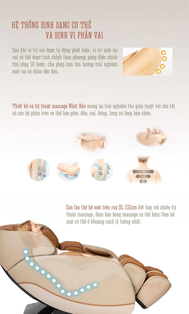 Ghế massage Boss Chair - sức khỏe trọn vẹn cho mọi gia đình - 5