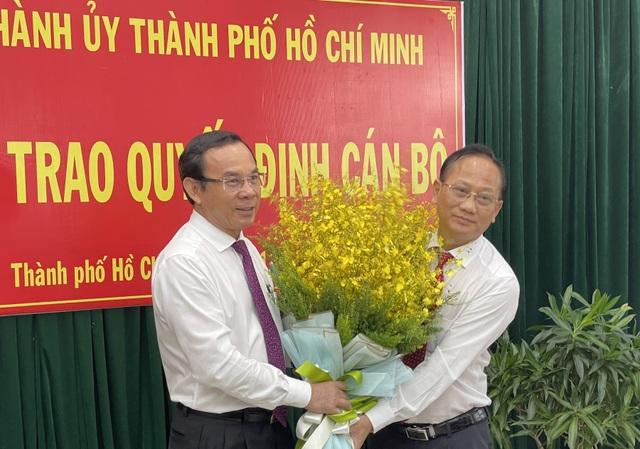 TPHCM chỉ định tân Bí thư huyện Bình Chánh - 2