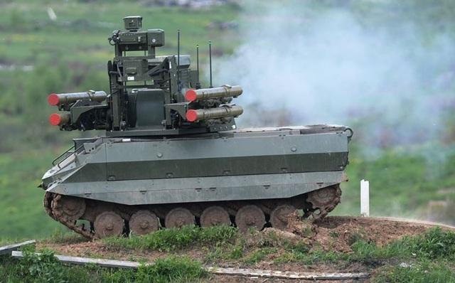 Nga sắp triển khai đội robot chiến đấu hạng nặng đầu tiên - 1