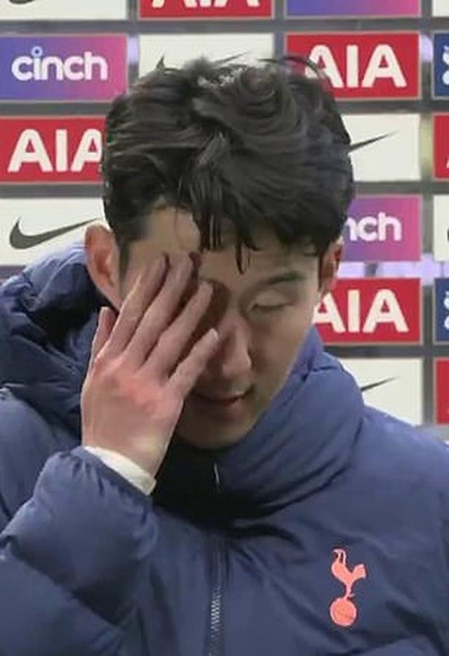 Ghi bàn mở tỷ số, Son Heung Min bật khóc khi Tottenham thua Man Utd - 3