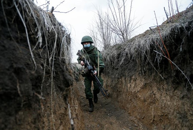 Bên trong chiến tuyến nóng rực khiến Nga - Ukraine căng như dây đàn - 1