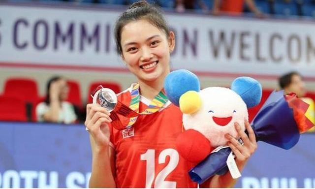 Báo Trung Quốc ấn tượng với vận động viên bóng chuyền xinh đẹp của Việt Nam - 1