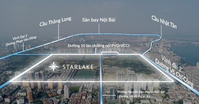 Cư dân Starlake hưởng lợi từ hạ tầng giao thông - 1