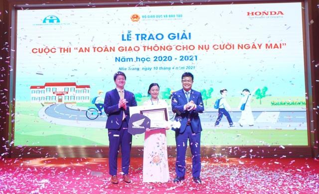 Honda Việt Nam nỗ lực giảm tai nạn giao thông ở lứa tuổi học sinh - 3