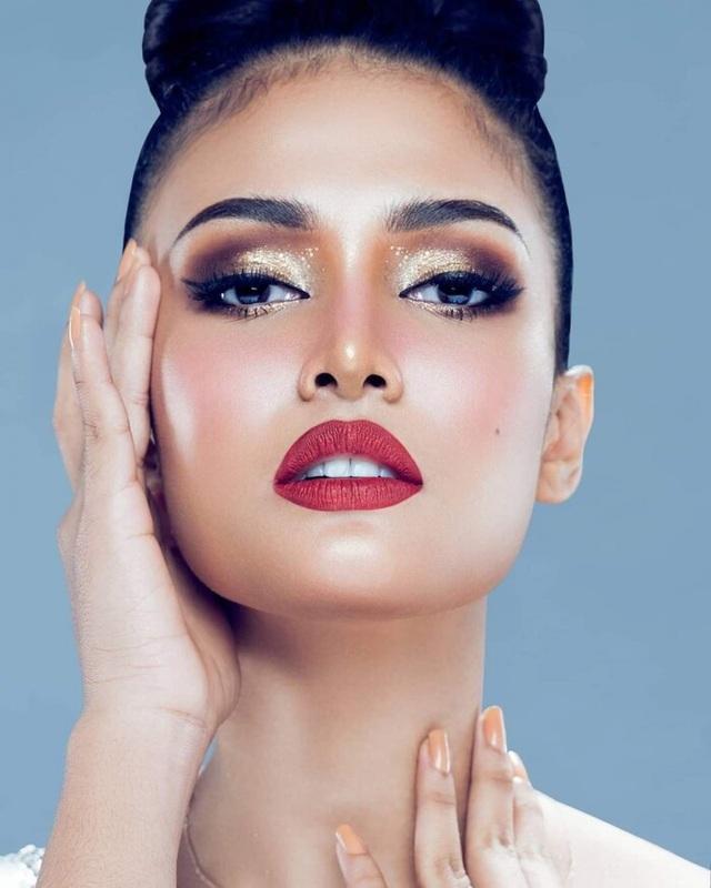 Vẻ đẹp lai nóng bỏng của ứng viên sáng giá tại Hoa hậu Hoàn vũ 2020 - 9
