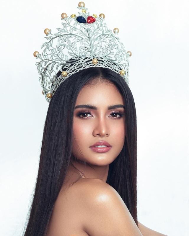 Vẻ đẹp lai nóng bỏng của ứng viên sáng giá tại Hoa hậu Hoàn vũ 2020 - 6