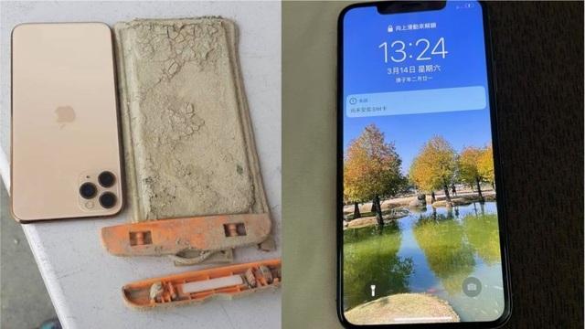 iPhone  vẫn sống sót sau một năm chìm dưới đáy hồ - 3