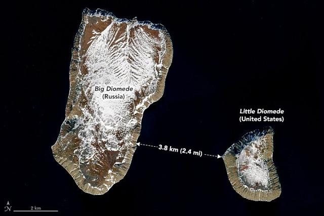 Lạ kỳ hai hòn đảo cách nhau 4km có thể quay ngược thời gian - 1