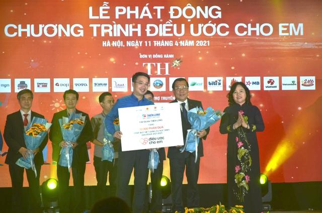Tập đoàn Thiên Long tài trợ 20.000 phần quà trong chương trình Điều ước cho em - 2