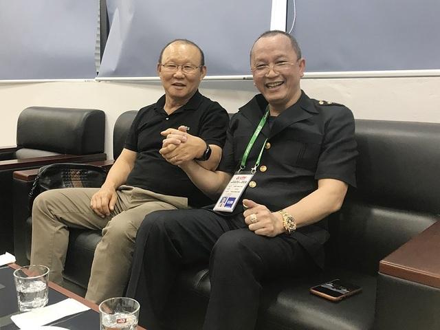 Chủ tịch Phạm Thanh Hùng: Không lẽ đội thua tôi khóc à - 1
