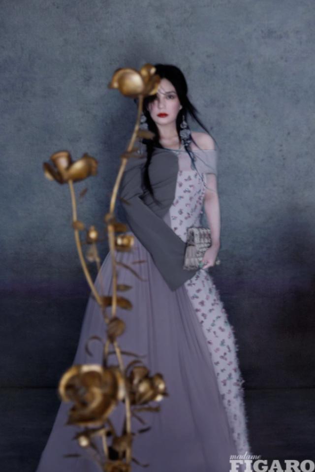 Cuộc sống giàu có và vẻ ngoài đáng yêu của con gái Triệu Vy - 11
