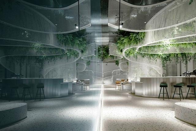 Khu vườn bay thơ mộng ẩn mình trong quán cà phê giữa lòng phố - 4