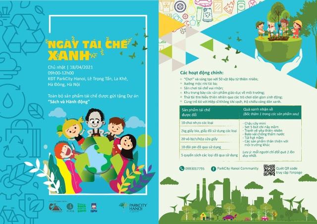 ParkCity Hanoi tổ chức Ngày tái chế xanh bảo vệ môi trường - 1