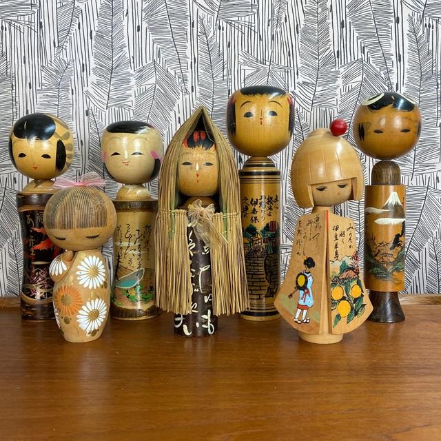 Thăm làng nghề truyền thống, tự vẽ búp bê gỗ Kokeshi - 6