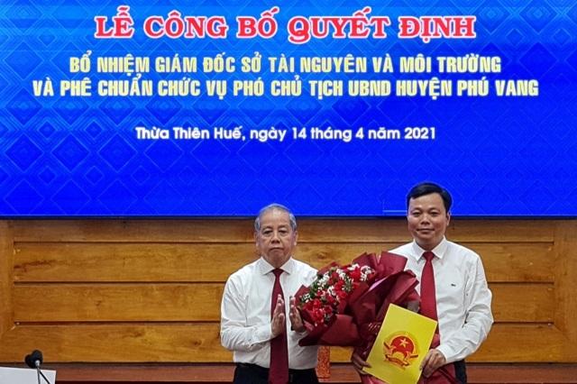Thành phố Huế có Phó Chủ tịch mới - 2