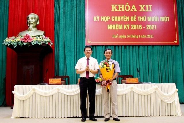Thành phố Huế có Phó Chủ tịch mới - 1