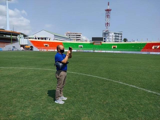 Đội tuyển Việt Nam tập huấn ở Quy Nhơn trước vòng loại World Cup - 1