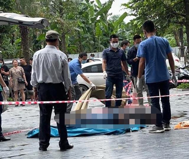 Nam thanh niên rơi từ tầng cao chung cư ở Hà Nội xuống đất tử vong - 1