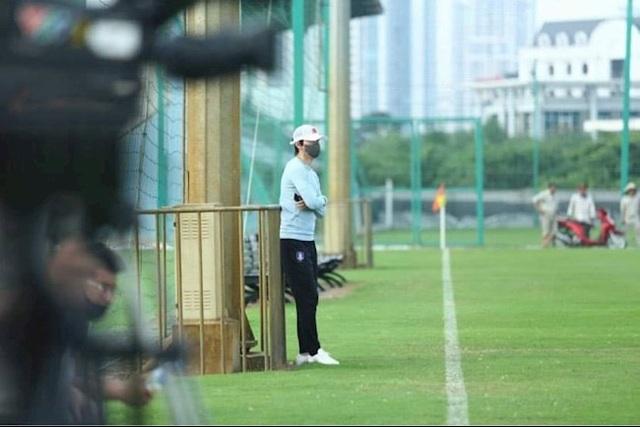 Thầy Hàn  xuất hiện, chân sút số 1 CLB Hà Nội quyết xé lưới HA Gia Lai - 2