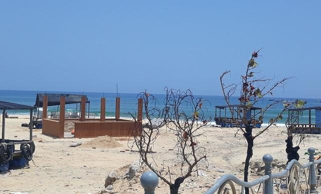 Đình chỉ công trình xây dựng không phép trên bãi biển Nhơn Lý - 1