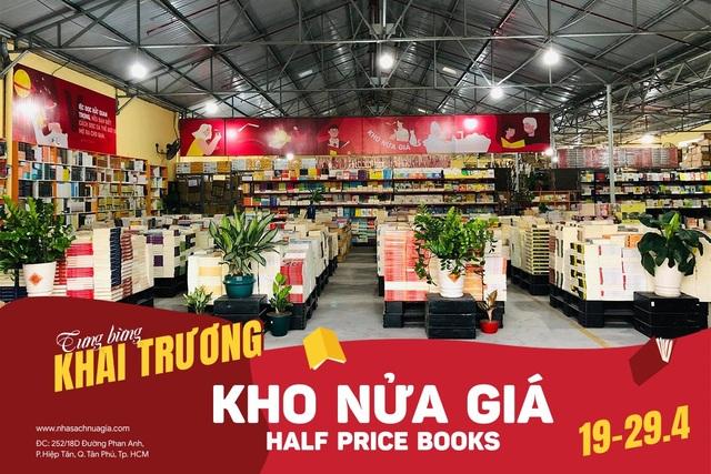 Ra mắt Kho sách nửa giá lớn tại Sài gòn với hơn 19.000 quyển - 1