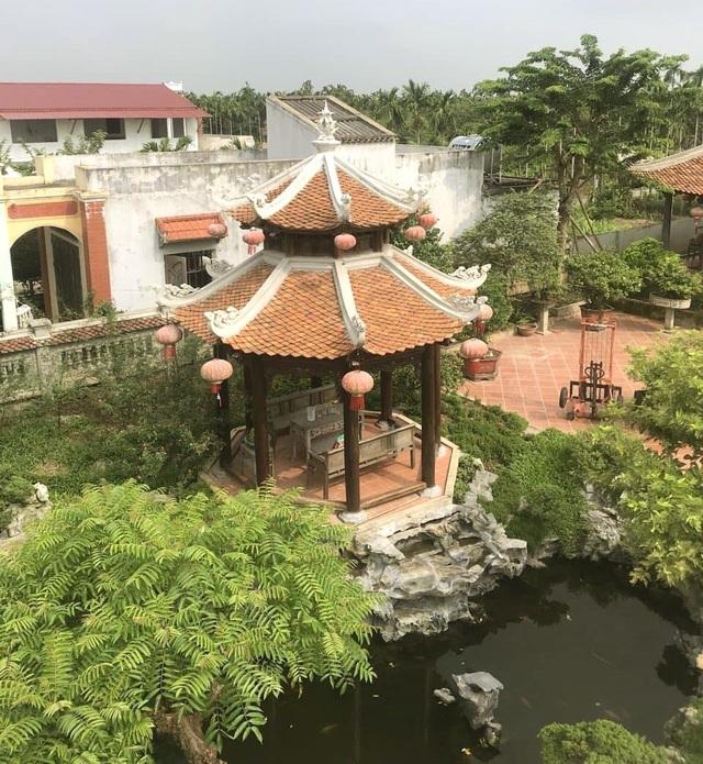 Biệt phủ 1.700m2 toàn cây cảnh bạc tỷ của gia đình ở Nam Định - 8
