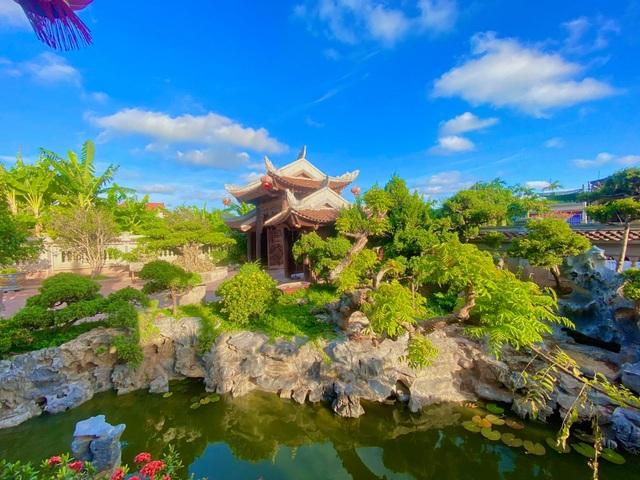 Biệt phủ 1.700m2 toàn cây cảnh bạc tỷ của gia đình ở Nam Định - 2