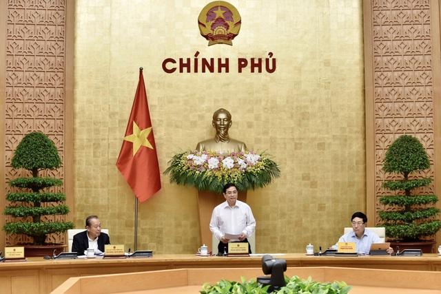 Thủ tướng nêu thông điệp trách nhiệm tại phiên họp của Chính phủ mới - 1