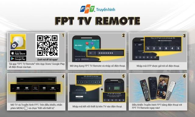 Nâng cấp FPT TV Remote, nâng tầm trải nghiệm số - 2