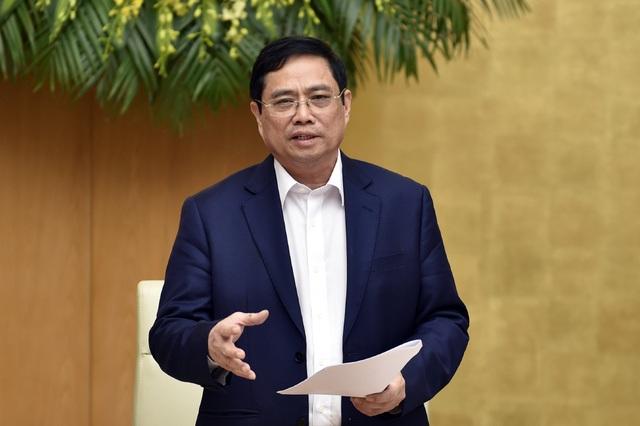 Thủ tướng: Truy trách nhiệm trực tiếp người đứng đầu về giải ngân vốn - 1
