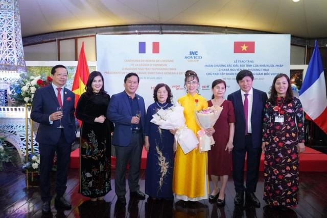 Nữ doanh nhân Nguyễn Thị Phương Thảo nhận Huân chương Bắc đẩu bội tinh của Nhà nước Pháp trao tặng - 4