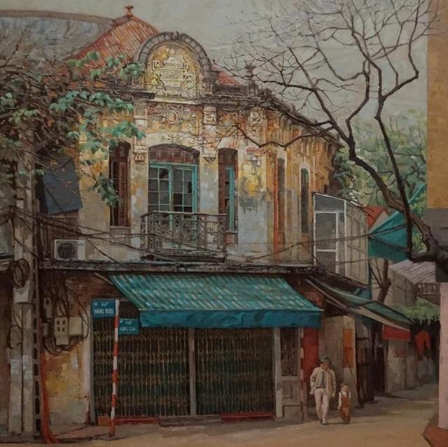 60 họa sĩ triển lãm trực tuyến gây quỹ xây nhà cho người nghèo ở Quảng Nam - 2