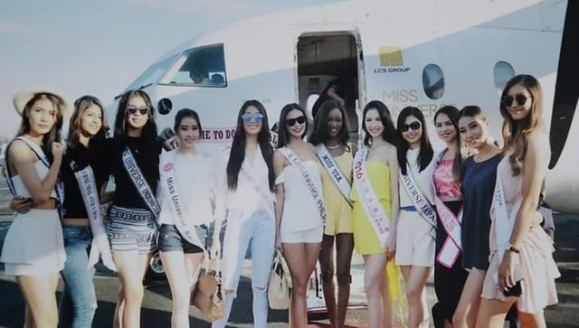 Những cuộc ngã giá, những buổi tiếp khách khi đi thi... Hoa hậu - 3