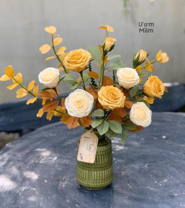 9X bỏ việc, mở lớp dạy làm hoa giấy cho người điếc, xương thủy tinh - 2