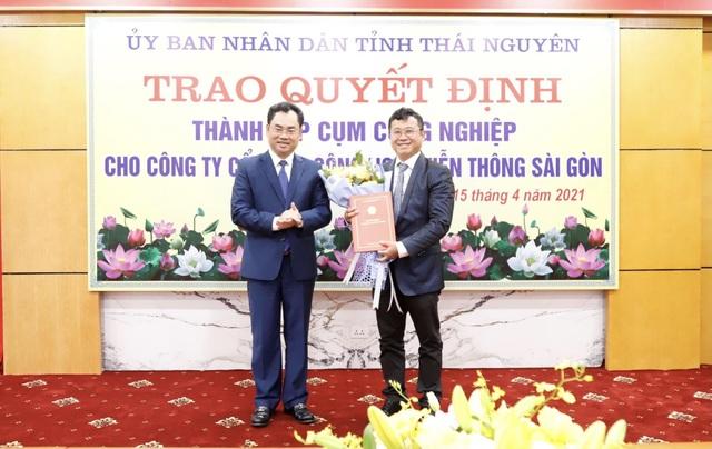 Thái Nguyên: Trao quyết định thành lập 3 cụm công nghiệp, thu hút đầu tư - 3