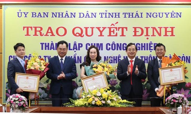 Thái Nguyên: Trao quyết định thành lập 3 cụm công nghiệp, thu hút đầu tư - 5