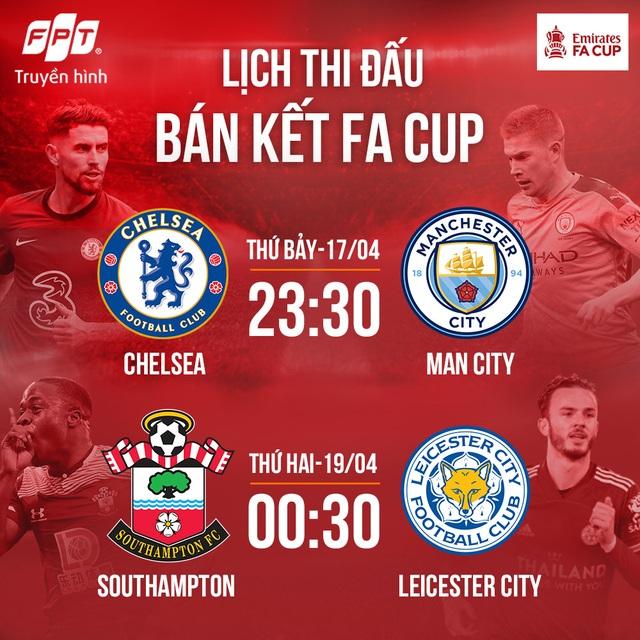 Bán kết FA Cup 2020/21: Chelsea - Manchester City, trận chung kết sớm của những bậc thầy chiến thuật - 4