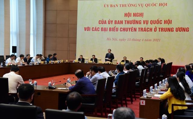 Chủ tịch Quốc hội lần đầu làm việc với đại biểu chuyên trách ở Trung ương - 3