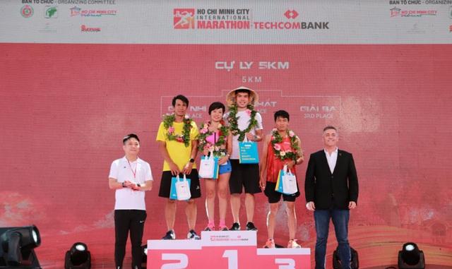 Masterise Homes tài trợ vàng giải Techcombank Marathon Quốc Tế TPHCM - 1
