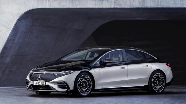 Xe chạy điện hạng sang Mercedes-Benz EQS trình làng với thiết kế ấn tượng - 1