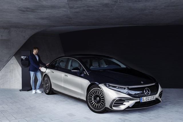 Xe chạy điện hạng sang Mercedes-Benz EQS trình làng với thiết kế ấn tượng - 10