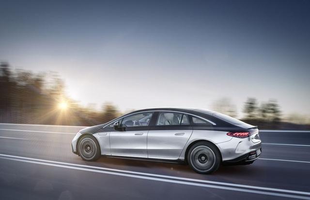 Xe chạy điện hạng sang Mercedes-Benz EQS trình làng với thiết kế ấn tượng - 11