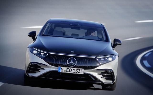 Xe chạy điện hạng sang Mercedes-Benz EQS trình làng với thiết kế ấn tượng - 12