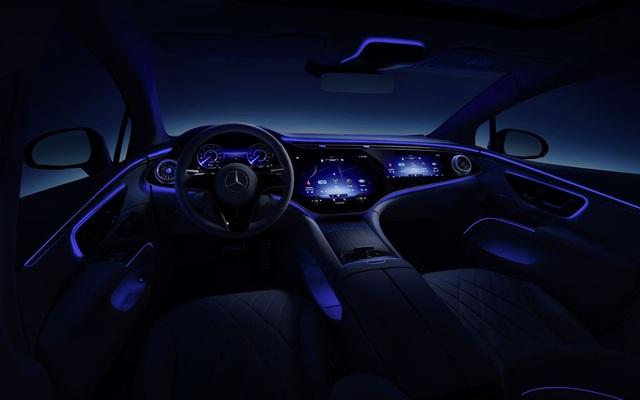 Xe chạy điện hạng sang Mercedes-Benz EQS trình làng với thiết kế ấn tượng - 13