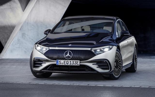 Xe chạy điện hạng sang Mercedes-Benz EQS trình làng với thiết kế ấn tượng - 3