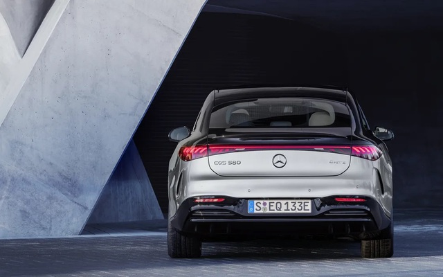 Xe chạy điện hạng sang Mercedes-Benz EQS trình làng với thiết kế ấn tượng - 4