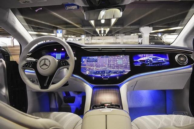 Xe chạy điện hạng sang Mercedes-Benz EQS trình làng với thiết kế ấn tượng - 6