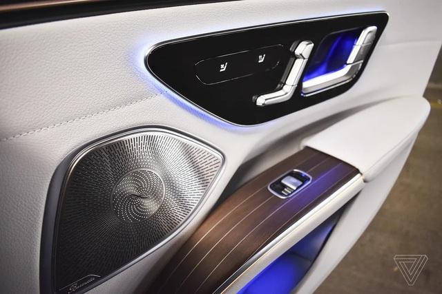 Xe chạy điện hạng sang Mercedes-Benz EQS trình làng với thiết kế ấn tượng - 8